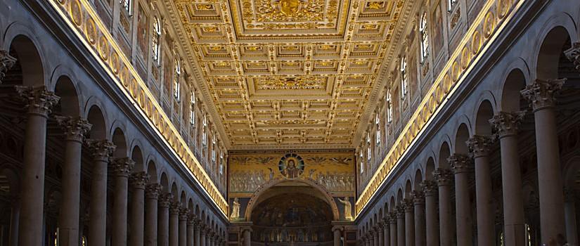 Rom: Paulus ausserhalb der Mauern